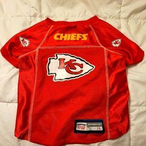 Dog CHIEFS jersey!